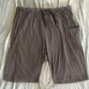 Lululemon Gray Athletic Shorts -Men's XXL